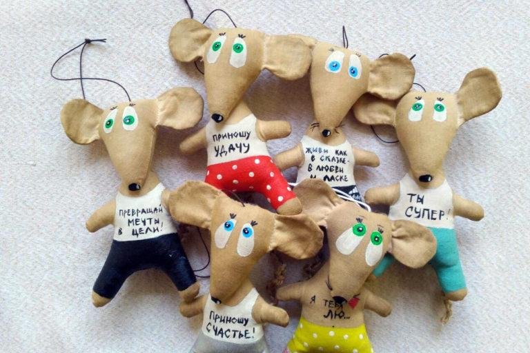 Счастливые крыски и мышки к Новому году!