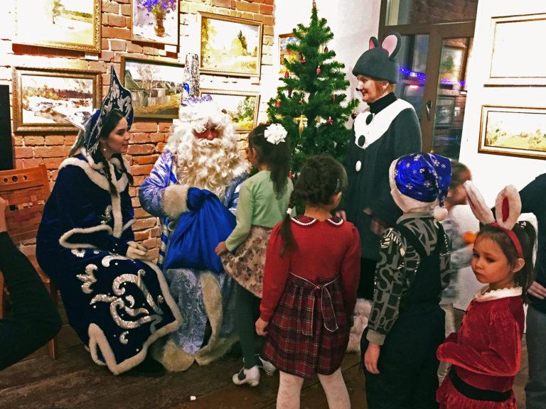 Новогодние чудеса в «Домике Счастья»